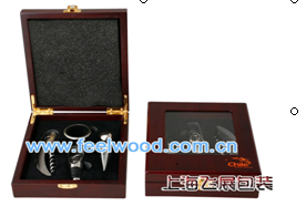 仿紅木酒具盒現貨 1
