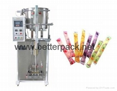 Ice pop jelly strip liquid tube sealing machine liquid soft tube filling sealing