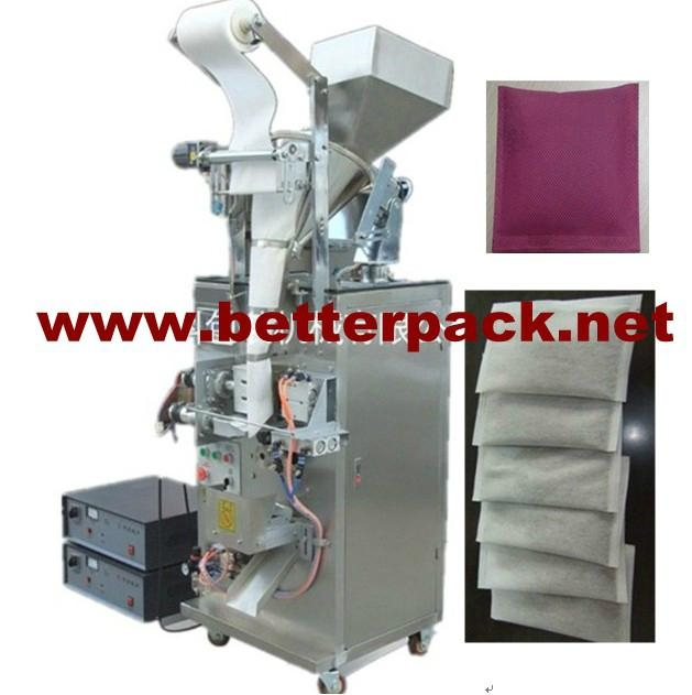 Nonwoven fabric activated charcoal packaging machine   1