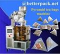 pyramid tea bags packaging machine