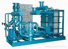 高效板式水水熱交換機組