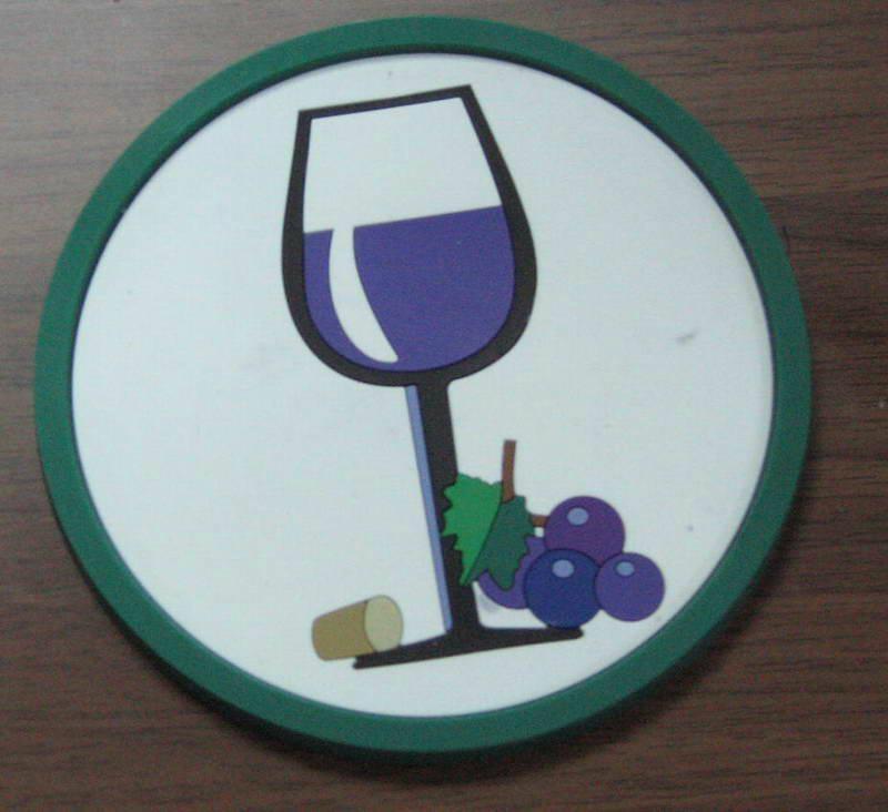 PVC杯垫   2