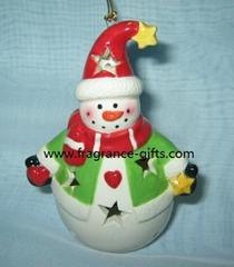 圣诞陶瓷瓶