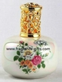 ceramic fragrance lamp /wick stone /aluminum lamp
