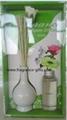 ceramic vase & reed diffuser