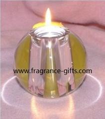 水晶玻璃烛台