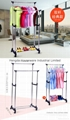 Folding Laundry Hanger Clothes Drying Rack Outdoor Clothes Airer