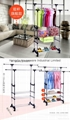 Folding Laundry Hanger Clothes Drying Rack Outdoor Clothes Airer 9