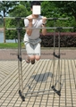 Folding Laundry Hanger Clothes Drying Rack Outdoor Clothes Airer 15