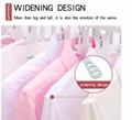 folding Swivel plastic clothes hanger for clothes 8 ranks set 13
