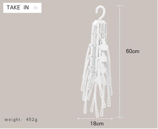 多用途折疊衣架 15