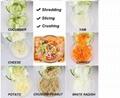 Hot Sale Round Mandoline Slicer Vegetable Cutter Chopper Potato Carrot Grater Sl 4
