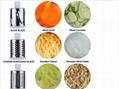 Hot Sale Round Mandoline Slicer Vegetable Cutter Chopper Potato Carrot Grater Sl 6