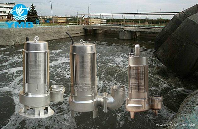 耐腐蚀不锈钢污水泵 1
