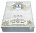 魔朮師刺繡皮盒鍍晶