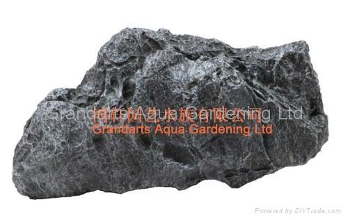 Artificial resin aquarium rocks 5