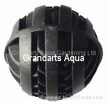 Aquarium filter media bio filter ball ls32 ls42 dansor for Diy bio balls
