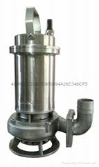不锈钢316L排污泵,不锈钢污水泵,不锈钢潜污泵