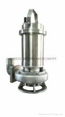 不锈钢排污泵,WQF不锈钢潜污泵,不锈钢污水泵