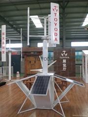 portable wind-solar hybrid power supply system: