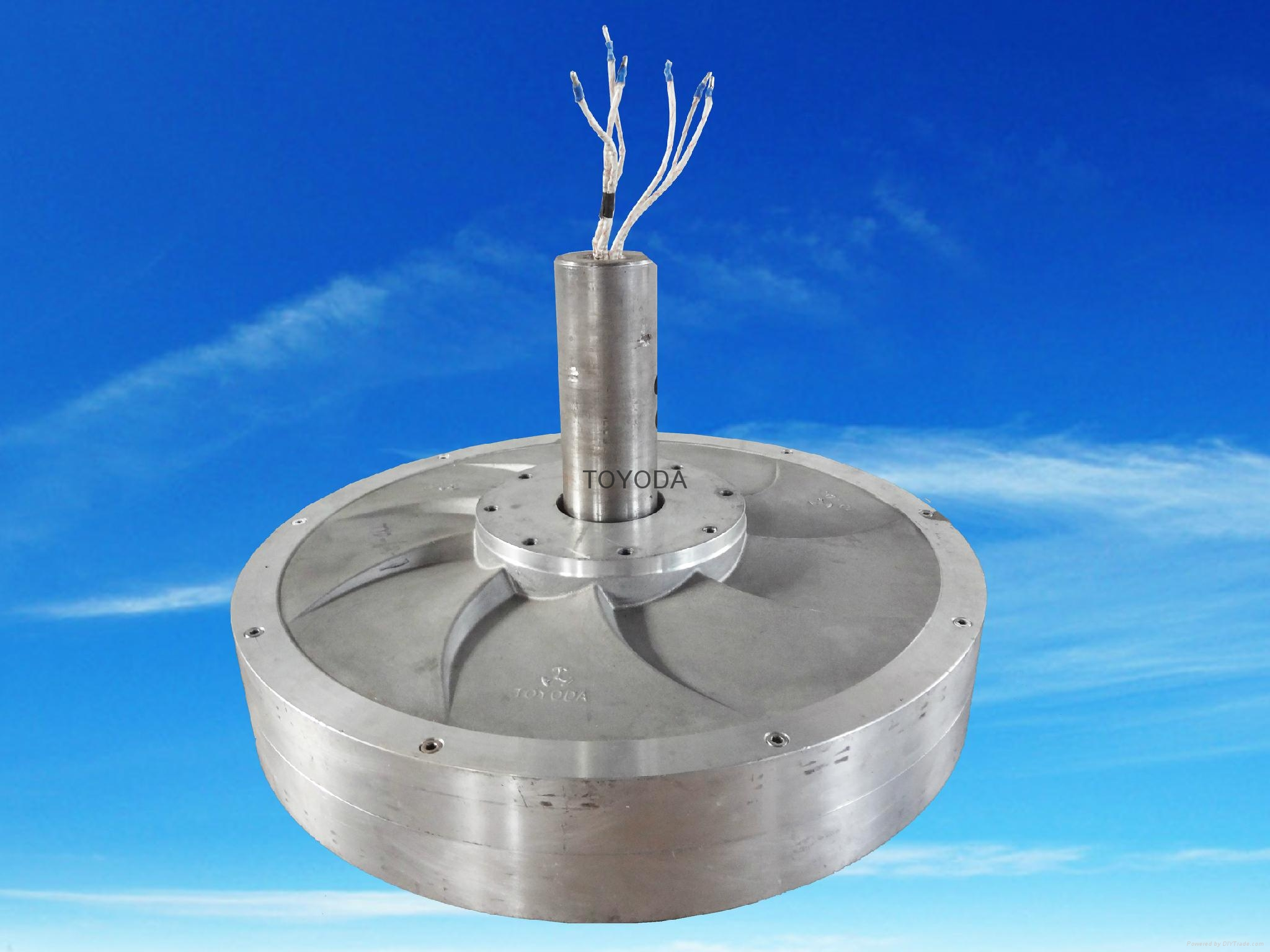 2kw vertical wind generator with low rpm and torque 2