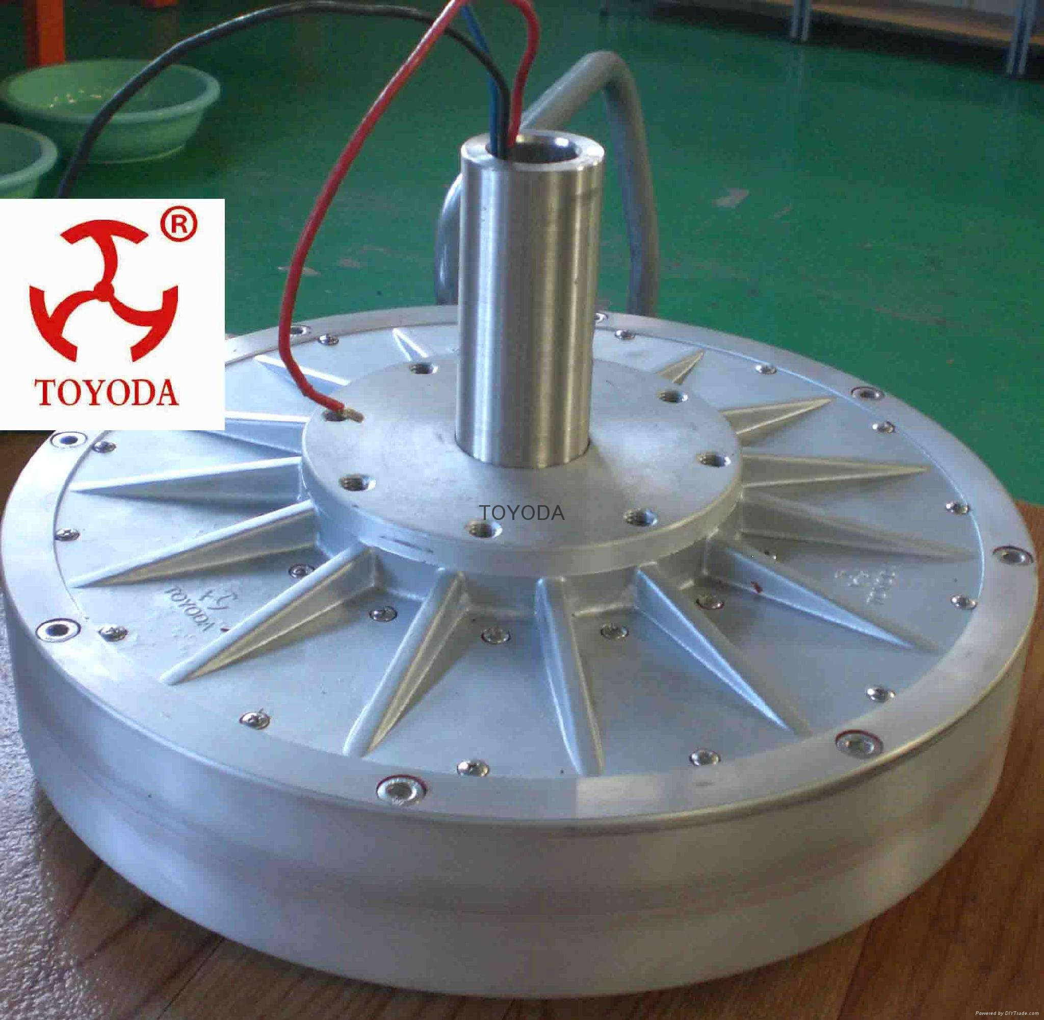 2kw vertical wind generator with low rpm and torque 5