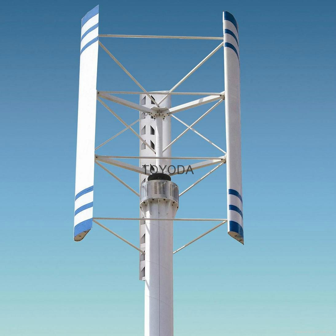1KW vertical axis wind turbine from TOYODA 1