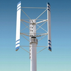 1KW vertical axis wind turbine from