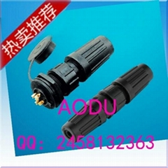 Z108 waterproof connector used on LED display screen