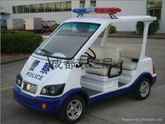 成都东之尼5座电动巡逻车
