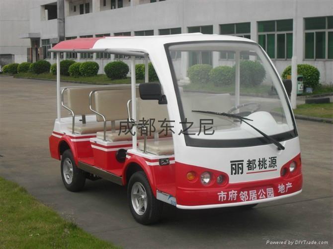 成都東之尼電動老爺觀光車 4