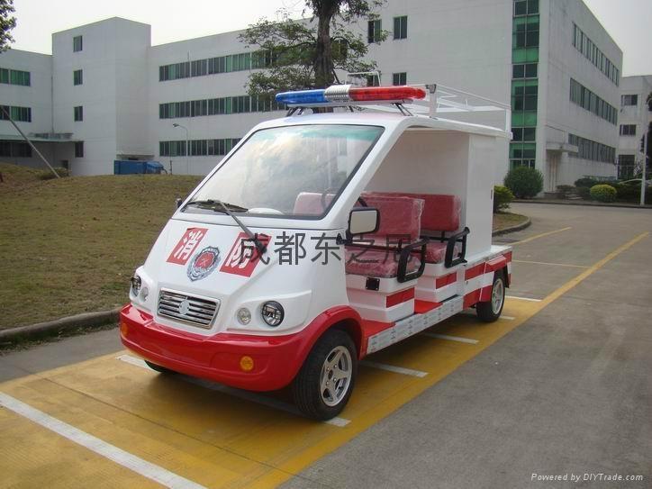 成都東之尼電瓶遊覽車 5