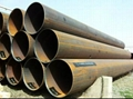 SS400 round welded pipe