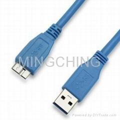 USB3.0连接线,A公对Micro公头