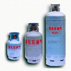 液化气钢瓶YSP118型单双阀