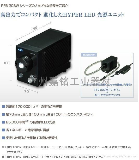 CCS可替换卤素灯的LED灯箱 PFB2 2