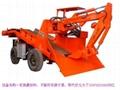 轮胎式挖掘装载机 2