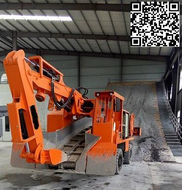 轮胎式挖掘装载机 5