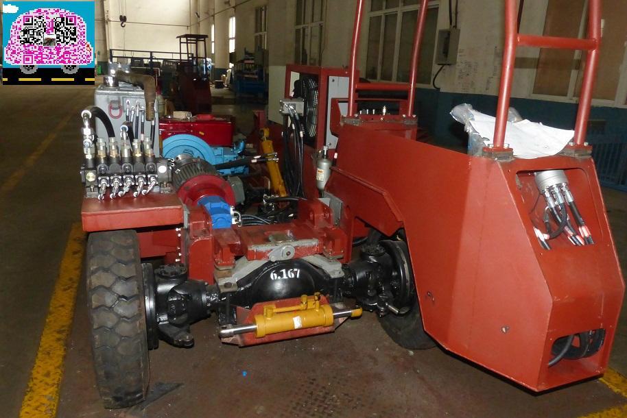 轮胎式挖掘装载机 4