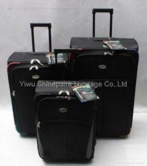 stock 3piece set luggage  travel bag  suitcase