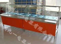 中式快餐店保溫展示櫃