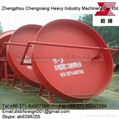 Pan granulator of fertilizer equipment