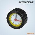 SK7360铝压花带数字表手轮