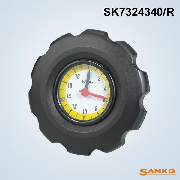 SK7324尼龙波纹数字表手轮