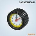 供应SK7360H带表铝压花手