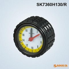 供应SK7360H带表铝压花手轮