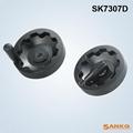 供应SK7307D短轴内波纹手