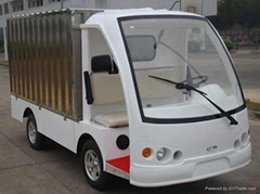 櫃式電動送餐車