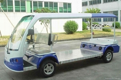 平板顶棚式电动货运车