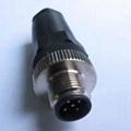 耐高温M12插座插头